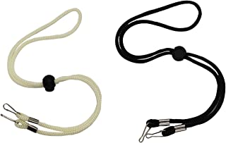 Adjustable Mask Lanyard for Face Bandanas with Clips, 2 Pack Convenient Safety Mask Strap Ear Pressure Relief Lanyards for...