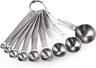 U-Taste Cucharas Medidoras Juego 9 Piezas Herramientas de