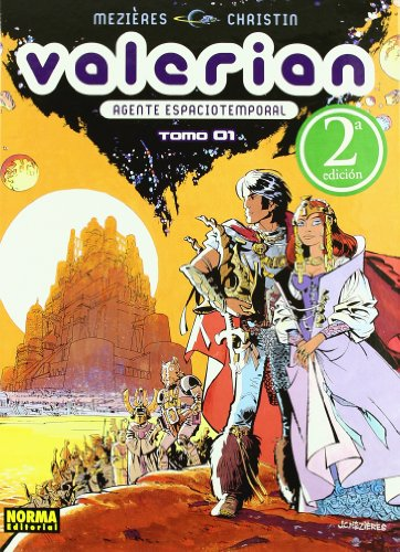 VALERIAN 1. AGENTE ESPACIOTEMPORAL (CÓMIC EUROPEO)