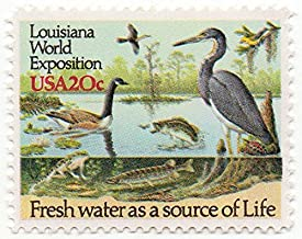 USA Postage Stamp Single 1984 Louisiana World Exposition Issue 20 Cents Scott #2086