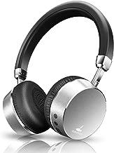 NoiseCancellingHeadphones,MeidongE6MetalBluetooth HeadphoneswithMicrophoneWirelessStereoHeadphonesOn-Ear,ErgonomicDesignforTravelWorkTVComputer