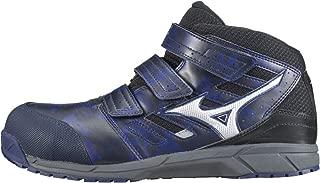 [ミズノ] 安全靴 オールマイティ LS MID 軽量 ベルト ミッドカット JSAA・普通作業用(A種)