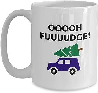 Christmas Story Ralphie Oh Fudge Funny Gift Mug Movie Quote Coffee Cup