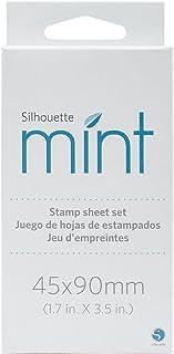 مجموعة أوراق الختم من Silhouette Mint مقاس XX-Large Mini Stamp Sheet - XXL