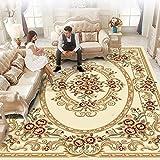 ZX-alfombras Alfombra, tapete de Mesa de té, Tejido Wilton, sin formaldehído, Antideslizante, Lavable, sin Sabor for el Dormitorio/Sala de Estar sofá Suave Agradable para la Piel Cómodo