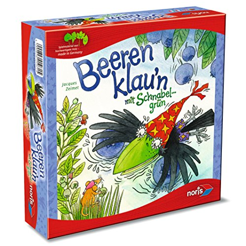 Noris 606011071 - Beeren klau'n, Kinderspiel