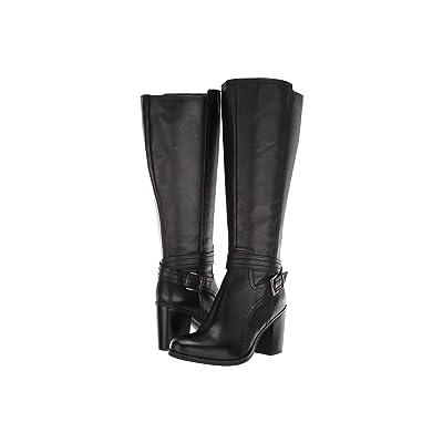 Naturalizer Kelsey Wide Calf (Black Leather) Women