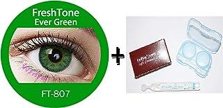 95812078ae Lente de contacto de color Ever Green 3tons freshtone® + Avizor Solution  multifunción para lente