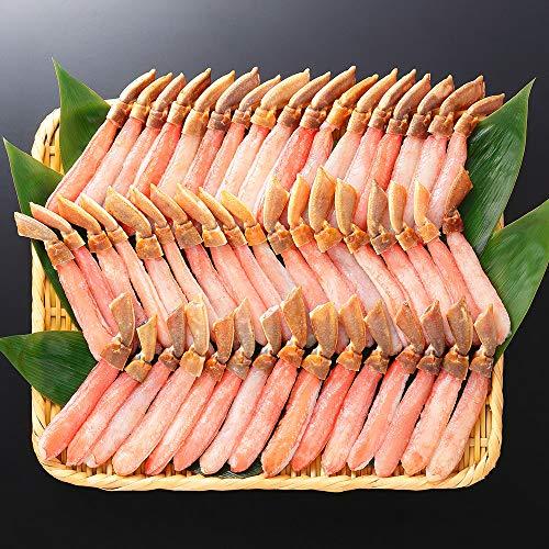 生 ズワイガニ ポーション 足 むき身 カット ずわい 訳あり 蟹 脚 1kg かに しゃぶ 約40本 北国からの贈り物