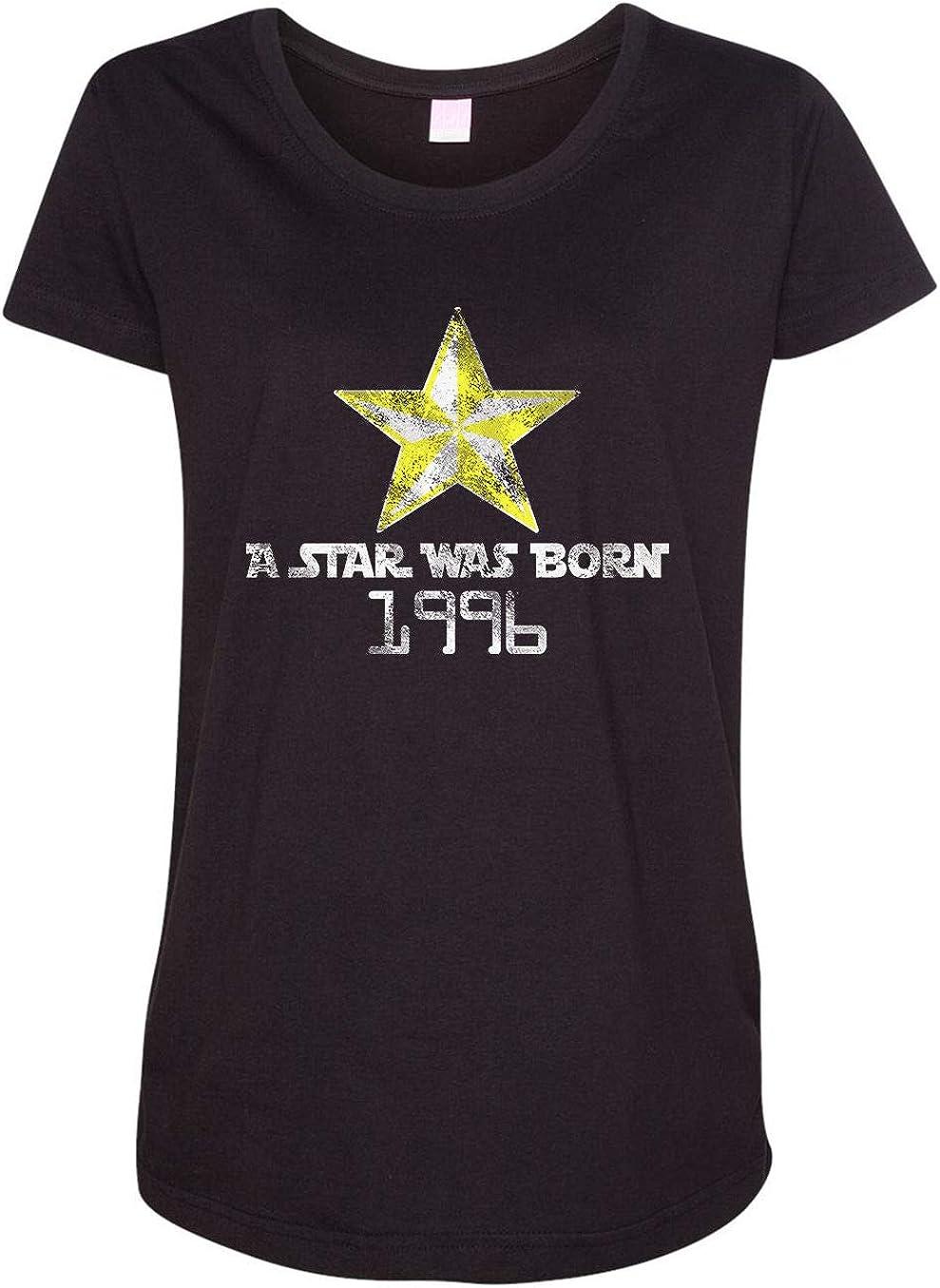 HARD EDGE DESIGN Women's A Star was Max Industry No. 1 62% OFF 1996 Born T-Shirt