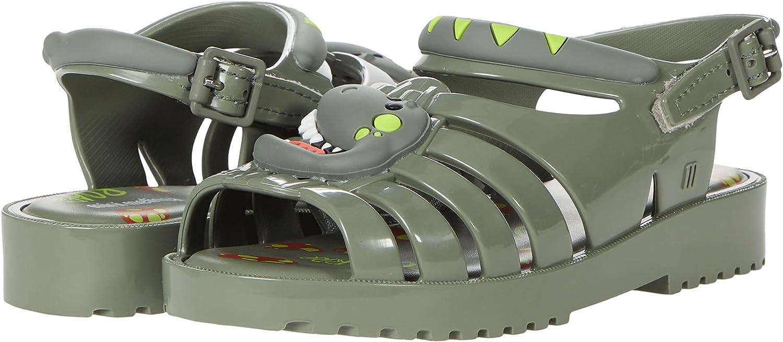 mini melissa Girl's Francxs Dino BB (Toddler/Little Kid)