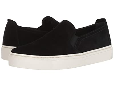 The FLEXX Sneak Name (Black Waterproof Suede) Women