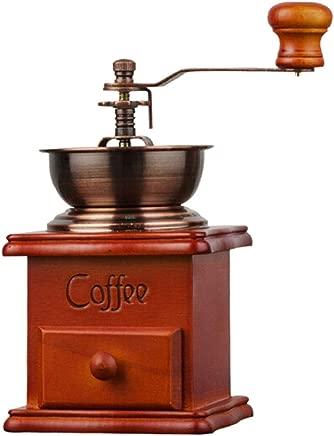 MINGTAI Manual Coffee Grinder Manual Coffee Grinder Manual Coffee Grinder Manual Coffee Grinder Bronze (Color : Bronze)