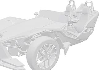 Polaris Slingshot Rim and Mirror Decal Kit - White Lightning