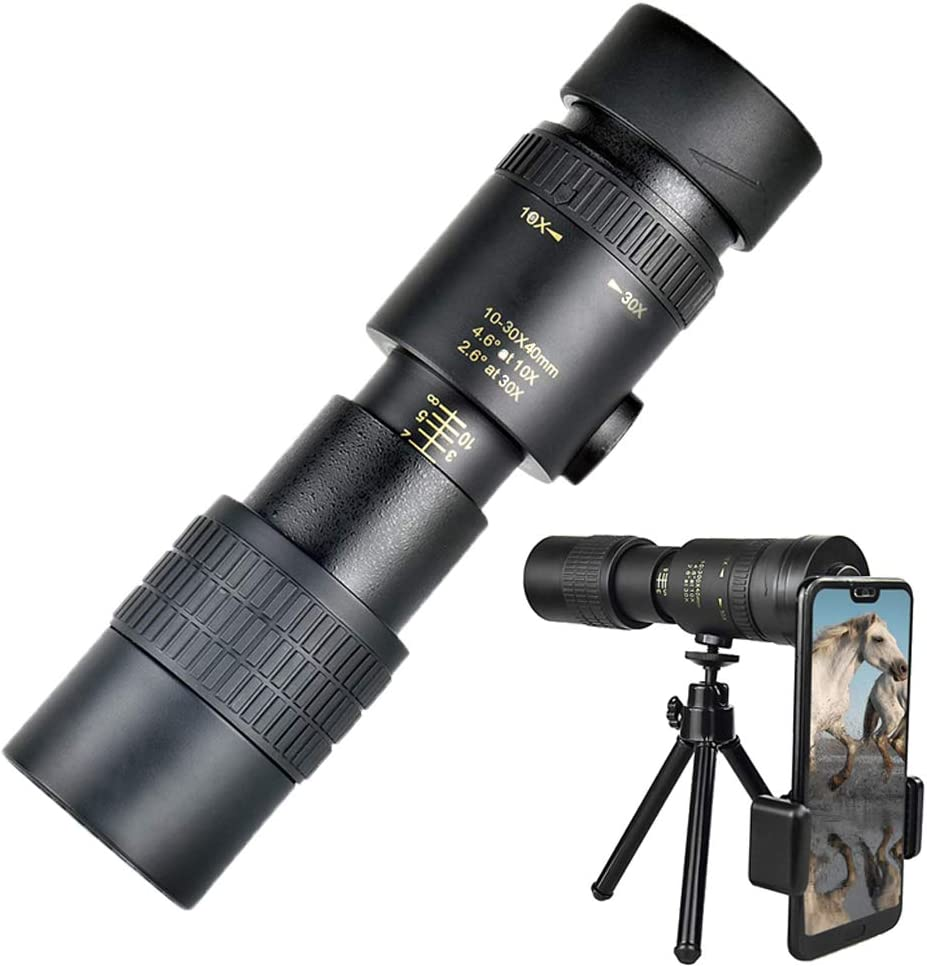 Monocular Telescope Genuine Free Shipping 4K 10-300X40mm Telephoto Monocul Super Don't miss the campaign Zoom