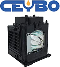 Ceybo 915P049010 Lamp/Bulb Replacement with Housing for Mitsubishi Projector fits WD-52631 WD-57732 WD-65731 WD-65732