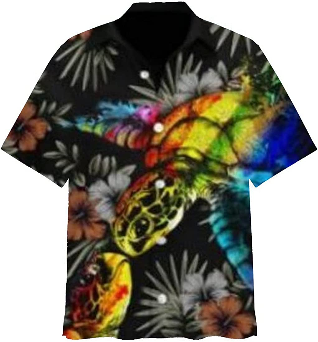Pride Month Hawaiian Shirts for Men Women - Gay Casual Aloha Beach Shirt Button Down Collection 31 Size