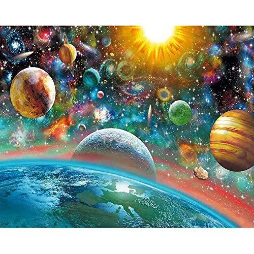 宇宙の風景300ピースジグソーパズル 木製ジグソー脳チャレンジ