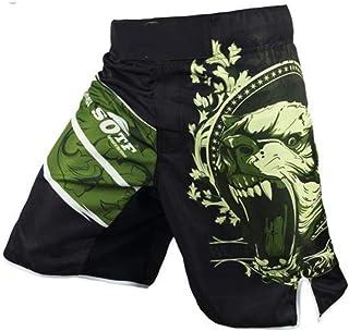 Green Bear Breathable Cotton Boxer Shorts Sport Training Thai Boxing Fight Short Boxing Clothing Muay Thai Boxing
