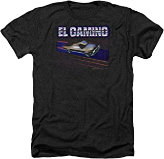 Chevrolet EL Camino 85 Licensed Adult Heather T-Shirt