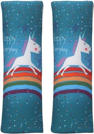 MULOVE Mr and Mrs Design 2 piezas de almohadillas para cintur/ón de seguridad para adultos fundas para cintur/ón de seguridad para el d/ía de San Valent/ín barba y labios