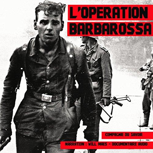 L'Opération Barbarossa audiobook cover art