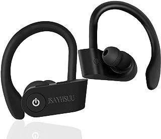 $39 » JSAYHSUU Over Ear Earhook Wireless Earbuds, in-Ear Headphones Waterproof Sport Bluetooth 5.0 Earphones/Volume Control, 10H...