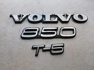 91-96 Volvo 850 T-5 Trunk Logo 3512149 Emblem 6846643 Decorative Ornament Decals Set