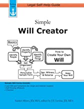 Simple Will Creator: Legal Self-Help Guide