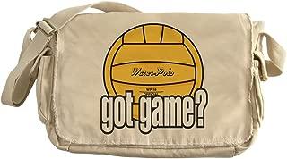 Water Polo Got Game? - Unique Messenger Bag, Canvas Courier Bag