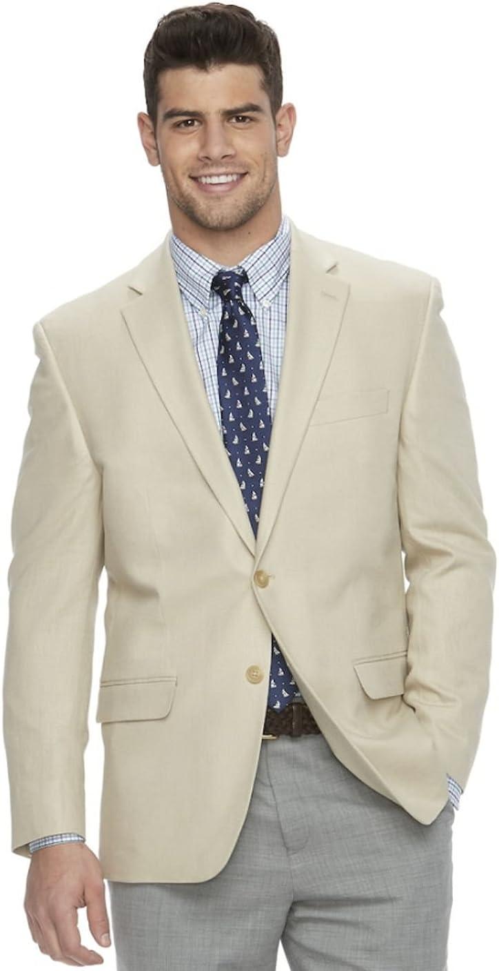 Chaps Men's Classic-Fit Linen Blend Sport Coat