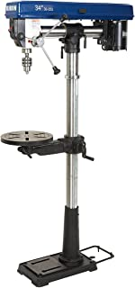 Rikon 30-251 3,100 RPM 34-Inch Radial Floor Drill Press with Chuck Key Holder