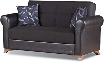 Amazon.com: Alicante Dark Teal Loveseat Bench: Kitchen & Dining