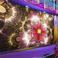 RTYUIHN 3d壁紙クールなナイトクラブフラワーバーKTVツール壁紙リビングルームの装飾モダンな壁アートの装飾