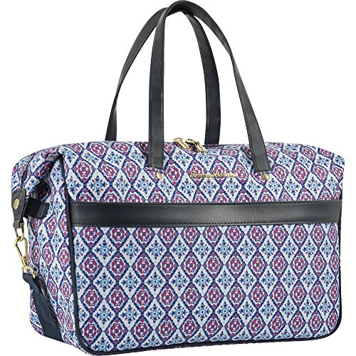 Tommy Bahama Large Weekend Overnight Duffel Travel Bag, Pink/Blue, One Size