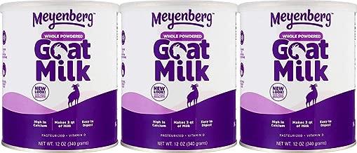 【3個セット】メインバーグ ゴートミルク 粉末タイプ (葉酸、ビタミンD配合) 340g [海外直送品] …