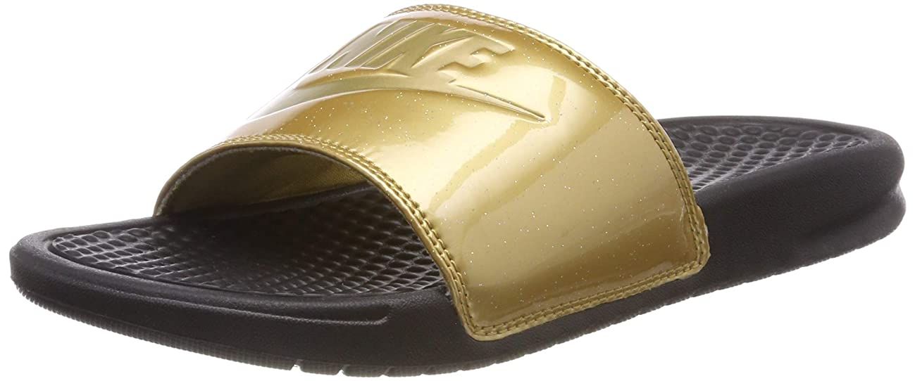 NIKE Women's Benassi Just Do It Synthetic Sandal