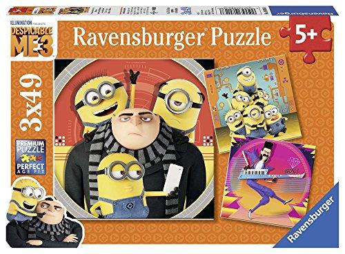 Ravensburger 08016 Abenteuer mit den Minions Kinderpuzzle