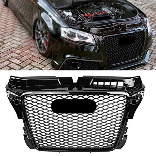 QIEP Frontgrill StoßStangengitter Oberer Grill FüR Audi A3/S3 8p 2009 2010 2011 2012 2013 Rs3 Style