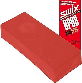 Swix Base Prep Wax: BP88 Red: 180 Grams: (Bulk Version - No Lid or Label)