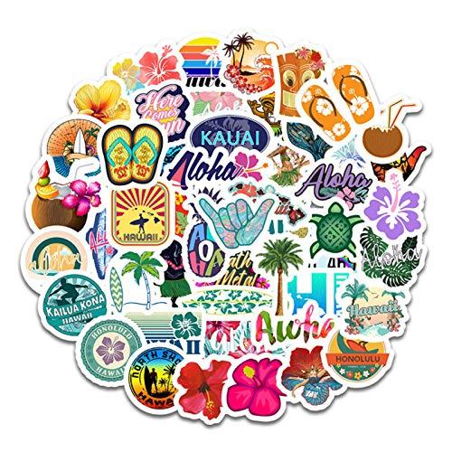 Oihxse 50 pegatinas de plástico Tumblr Aesthetic, resistentes al agua, para portátil, monopatín, coche, moto, bicicleta, maletín, DIY, fiesta, estrella, para decorar Vsco, niñas y jóvenes, A10