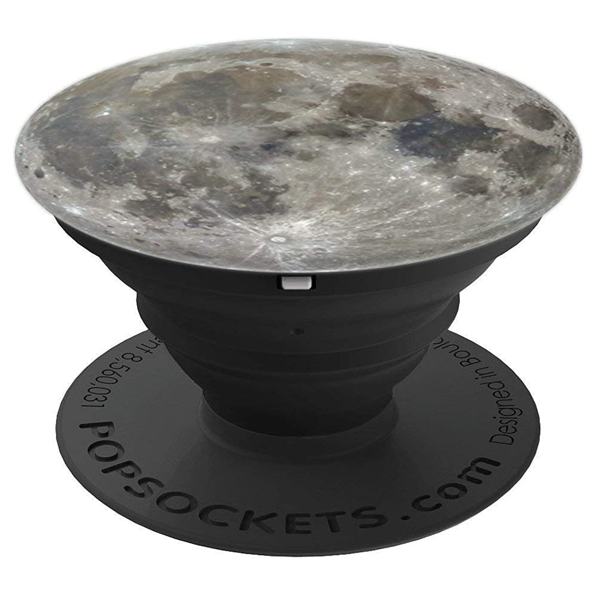 Full Moon Landing Anniversary Outer Space Astronomy Gift - PopSockets Grip and Stand for Phones and Tablets