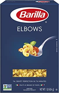 Barilla Pasta, Elbows, 16 Ounce (Pack of 16)