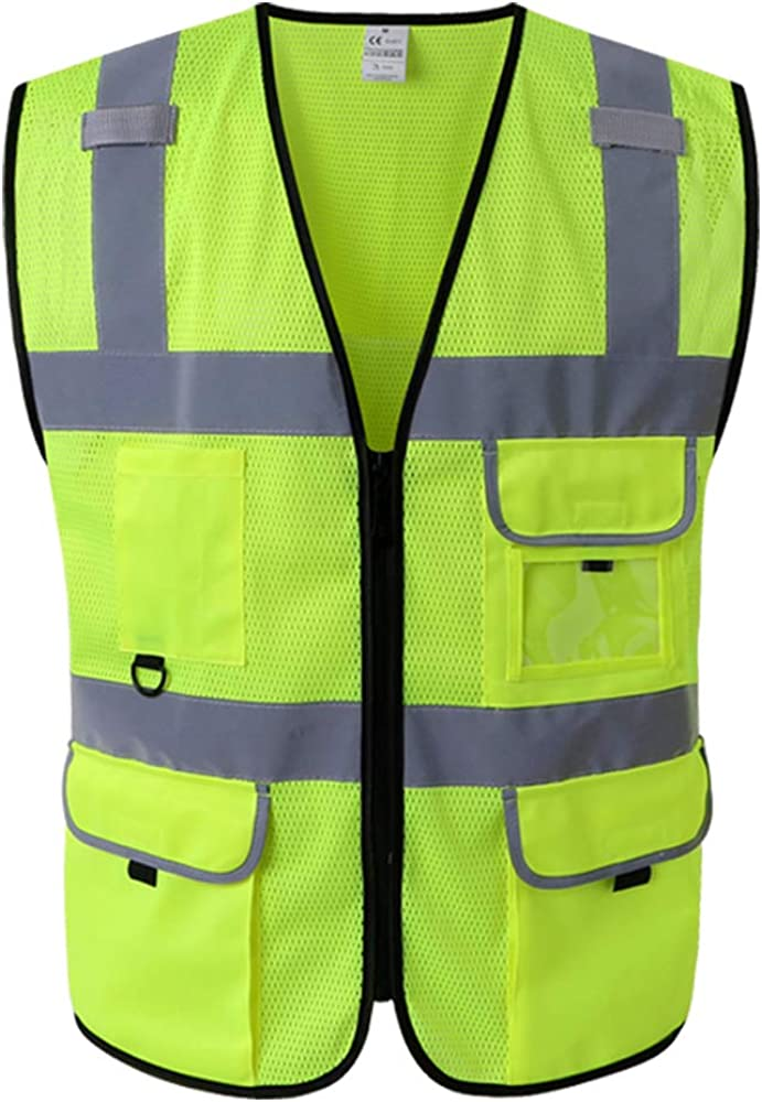 Kasthere mesh Safety Vest-High Reflective Vest OFFer Visibility w Fixed price for sale