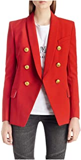 Wellwits Boys Double Breated Button Down Cardigan Sweater Jacket Coat