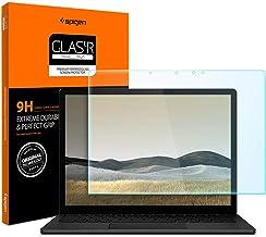 Spigen Tempered Glass Screen Protector Designed for Surface Laptop 3 (13.5 inch / 2019) [9H Hardness]
