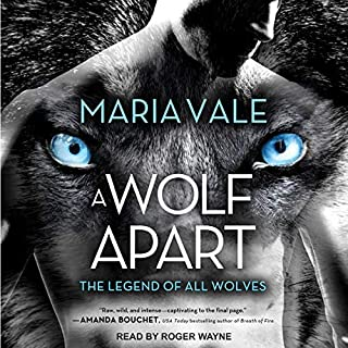 A Wolf Apart audiobook cover art