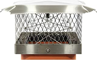 Lindemann Chimney Top Damper Plus by US Fireplace Products (13 x 13)