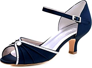 Best navy blue and silver dress shoes Reviews