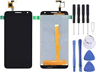 CHENN LCD Screen and Digitizer Full Assembly for Alcatel One Touch Idol 2 Mini S / 6036 / 6036Y(Black) (Color : Black)